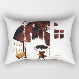 Late Moon Rectangular Pillow