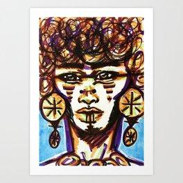 TRADITION Art Print
