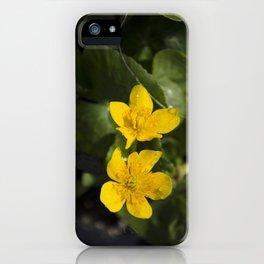 """""""Fleurs jaunes"""" iPhone Case"""