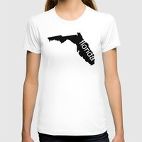 florida T-shirts featuring Florida by Isabel Moreno-Garcia