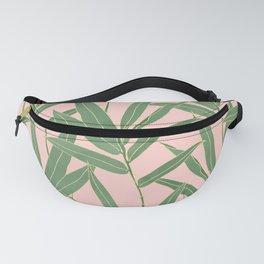 Elegant bamboo foliage design Fanny Pack