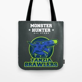 Monster Hunter All Stars - The Tanzia Brawlers Tote Bag