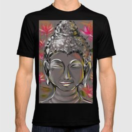 Buddha in happiness & inner peace T-shirt