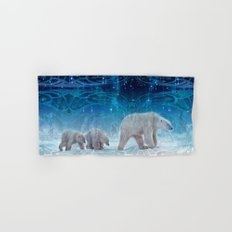 Arctic Journey of Polar Bears Hand & Bath Towel