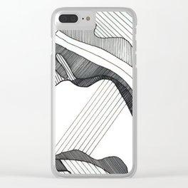 P A T T E R N Clear iPhone Case