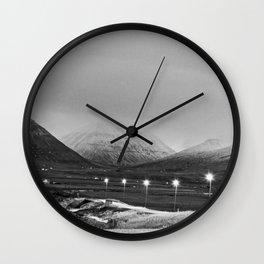 Varmahlíð Wall Clock