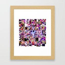 - minimal TV - Framed Art Print
