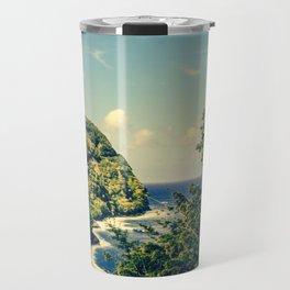 Honomanu Highway to Heaven Road to Hana Maui Hawaii Travel Mug