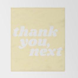 thank you, next Throw Blanket