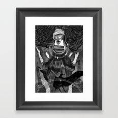 God of Birds Framed Art Print