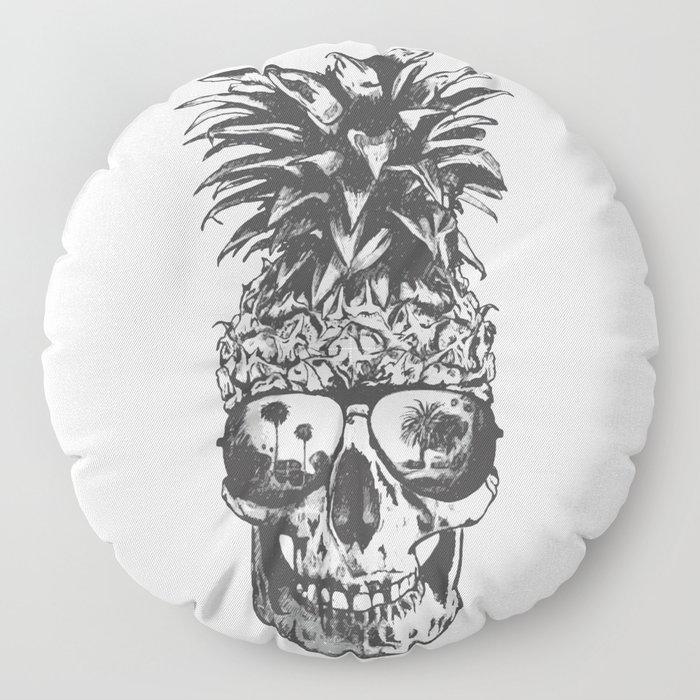Pineapple Skull Head Floor Pillow