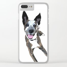 Chelsea Dog Clear iPhone Case
