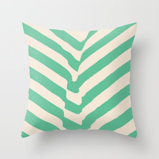 PARK PLANTS 002 — Matthew Korbel-Bowers Throw Pillow