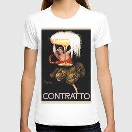 1922 Contratto Poster by Leonetto Cappiello T-shirt