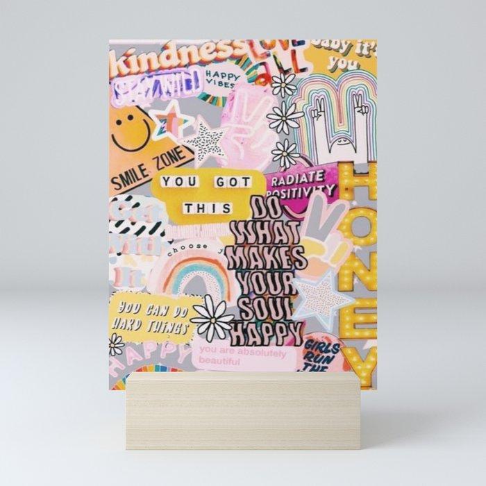 Purple Mood Mini Art Print
