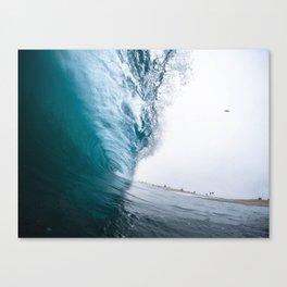 Beautiful Wave Crash Canvas Print