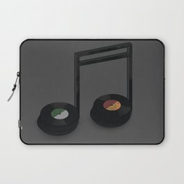 Music Record Laptop Sleeve