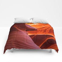 SCULPTURE OF NATURE ANTELOPE CANYON ARIZONA PHOTOGRAPHY Comforters