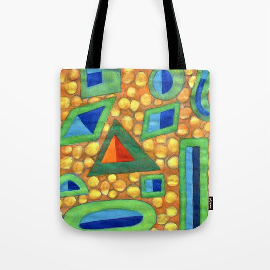 Collection of different Shapes with Double Fillings Tote Bag