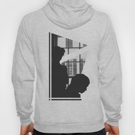 Silhouettes In Window Hoody