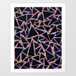 triangles (neuf) Art Print