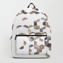 GoldGrey pattern  Backpack