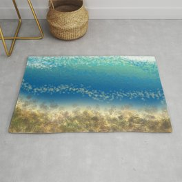 Abstract Seascape 04 wc Rug
