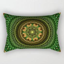 Forest Eye Mandala Rectangular Pillow