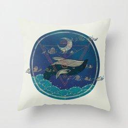Nightly Ritual Throw Pillow