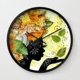 Earth Child Wall Clock