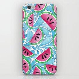 Watery Watermelon iPhone Skin