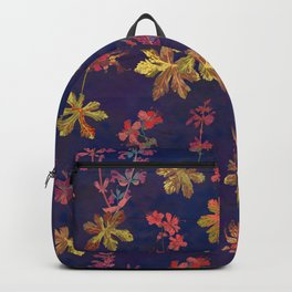 Blue Geraniums Backpack