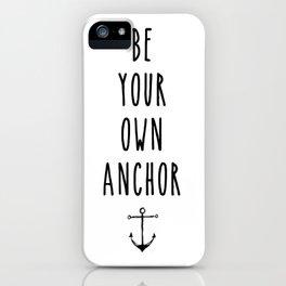 Teen Wolf / Anchor iPhone Case