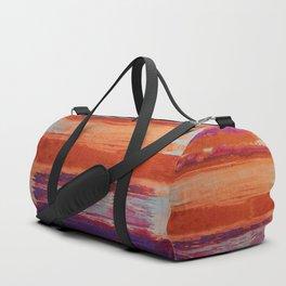 V41 Traditional Boho Marrakech Carpet Design. Duffle Bag