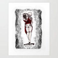 afflictus Art Print