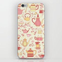 Teapots #5 iPhone Skin