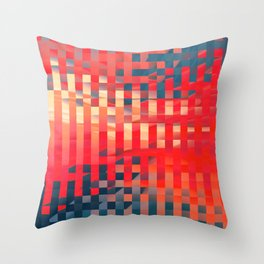 Abstract Composition 677 Throw Pillow