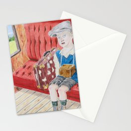 Evacuee Child Stationery Cards