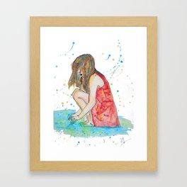 Laurine Framed Art Print