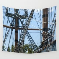pirates Wall Tapestries featuring Pirates! by NL Designs