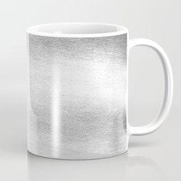 Silver Paint Coffee Mug