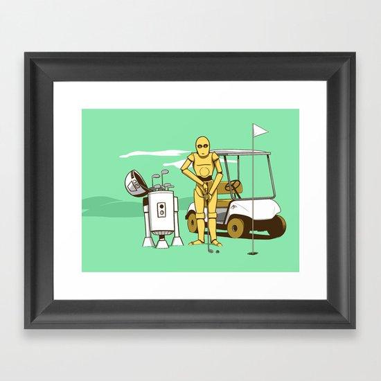 star wars episode 7 Framed Art Print
