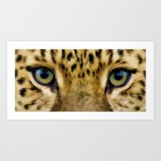 Eye Of The Tiger - Painting Style Art Print