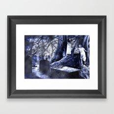 By Moon's Pale Light Framed Art Print