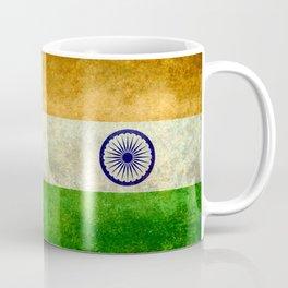 Flag of India - Retro Style Vintage version Coffee Mug