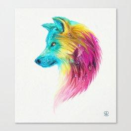 Fantasy Wolf Canvas Print