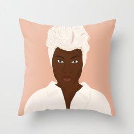 Nola Darling Throw Pillow