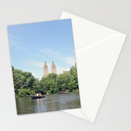 Central Park Lake Stationery Cards