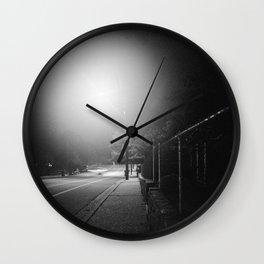Night Moves 1 Wall Clock