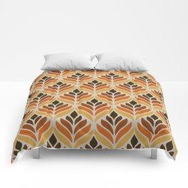 Retro Flower Pattern Comforters